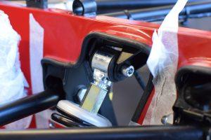 RHS top damper fixing